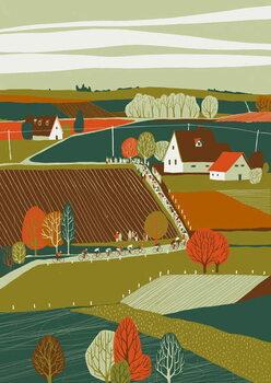 Liege-Bastogne-Liege Canvas Print