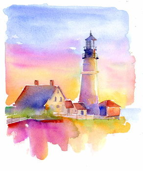 Lighthouse, 2014, Canvas Print