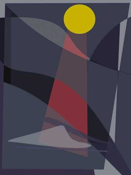 Lighthouse,2016, Canvas Print