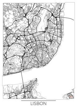Canvas Print Lisbon
