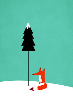 Canvas Print Little Mister Fox
