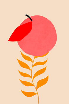 Canvas Print Little Peach