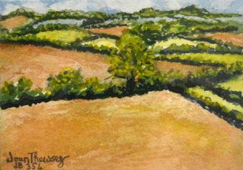 Little Suffolk Landscape,2000 Canvas Print