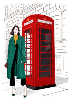 London Streetstyle Canvas Print