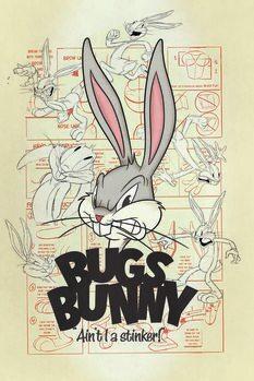 Canvas Print Looney Tunes - Bugs Bunny