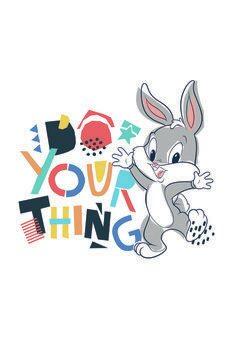 Canvas Print Looney Tunes - Little bunny