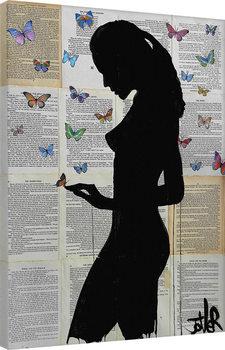 Canvas Print Loui Jover - Butterflies