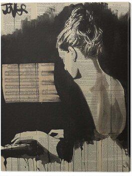 Canvas Print Loui Jover - Her Sonata