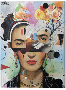 Canvas Print Loui Jover - Kahlo Anaylitica