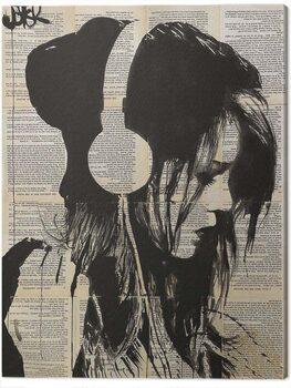Canvas Print Loui Jover - Melodies Solace