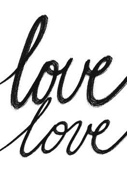 Canvas Print Love Love