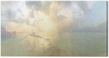 Canvas Print Malcolm Sanders - Between The Islands