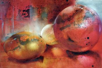 Canvas Print Marbles