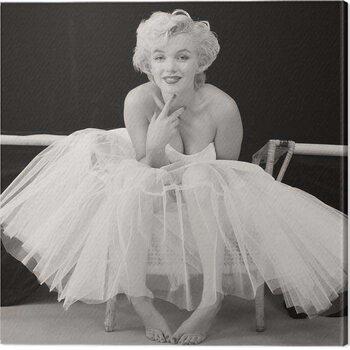 Canvas Print Marilyn Monroe - Ballerina
