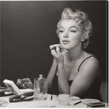 Canvas Print Marilyn Monroe - Preparation