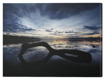 Marina Cano - Beach Reflection Canvas Print
