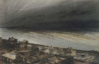 Marine-Terrace, Jersey, 1855 Canvas Print