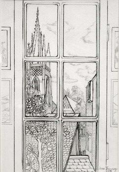 Marlow Church,2015 Canvas Print