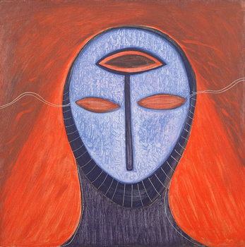Masque V, 1991 Canvas Print