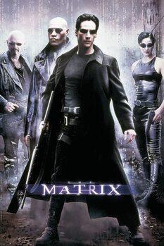 Canvas Print Matrix - Hackers