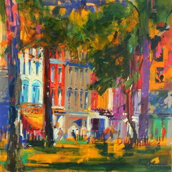 Mayfair Canvas Print