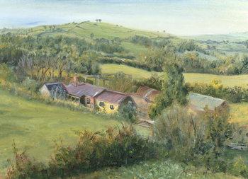 Meadow Farm Cottage, 1999 Canvas Print