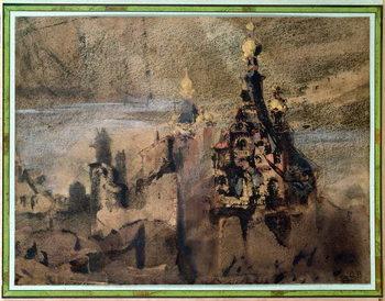 Memory of Spain, 1850 Canvas Print