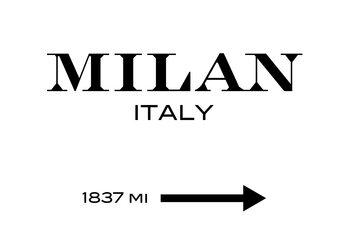 Canvas Print Milan