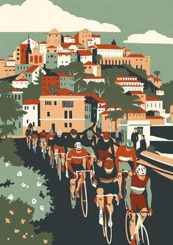 Milan - San Remo Canvas Print