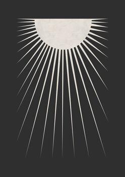 Canvas Print Minimal Moon