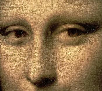 Mona Lisa, c.1503-6 (oil on panel) Canvas Print
