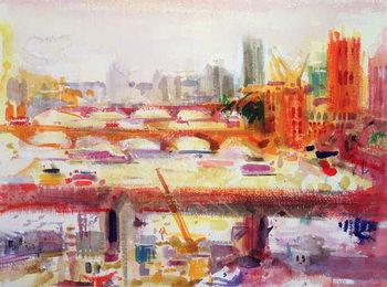 Monet's Muse, 2002 Canvas Print