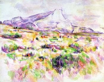Mont Sainte-Victoire from Les Lauves, 1902-06 Canvas Print