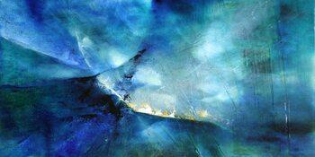 Canvas Print moody blue II