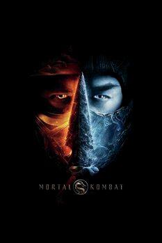 Canvas Print Mortal Kombat - Two faces
