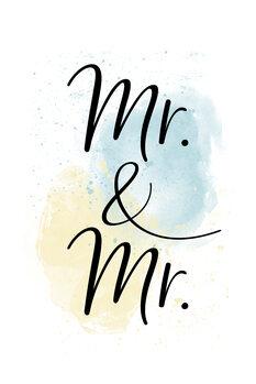 Canvas Print Mr. & Mr.