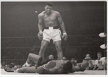 Canvas Print Muhammad Ali - Ali vs Liston Landscape