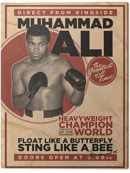 Canvas Print Muhammad Ali - Retro - Corbis