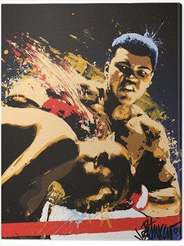 Canvas Print Muhammad Ali - Stung