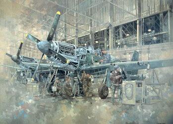 Mustang at Warton Canvas Print