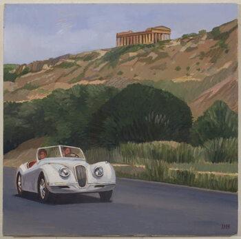 Mykonos, 2009 Canvas Print