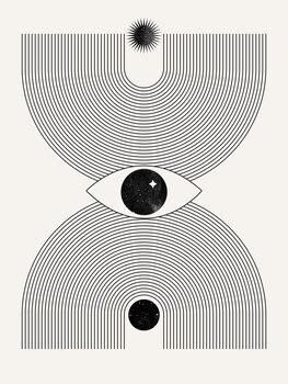 Canvas Print Mystical eye