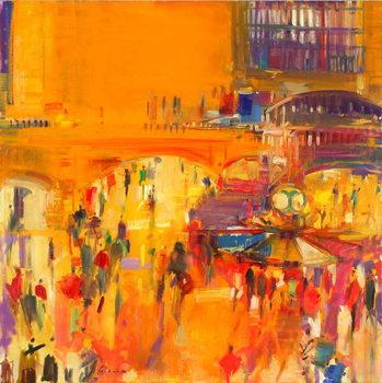 New York, Grand Central Canvas Print