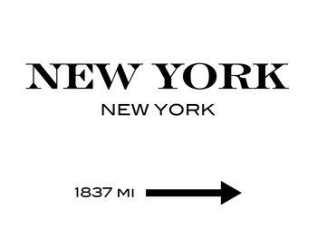 Canvas Print New York