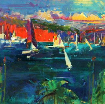 North Head, Sydney Harbour, 2012 Canvas Print