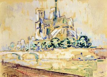 Canvas Print Notre Dame, 1885