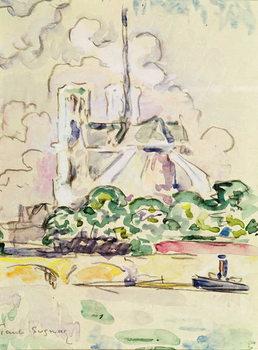 Notre-Dame, 1925 Canvas Print