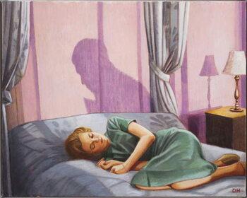 Nova Sleeping Canvas Print