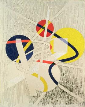 Nuclear Space, 1946 Canvas Print