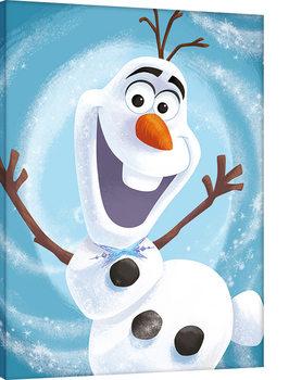 Olaf's Frozen Adventure - Happy Canvas Print
